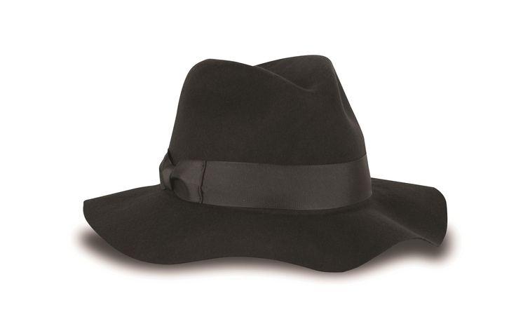 Tilley Women's Wool Floppy Brim Fedora Hat