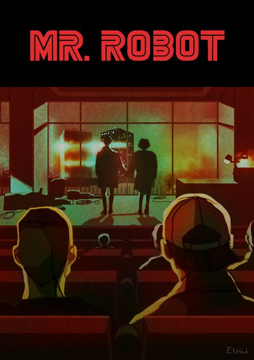 Mr. Robot Meets Fight Club by eliosu. // Well this is awesome.