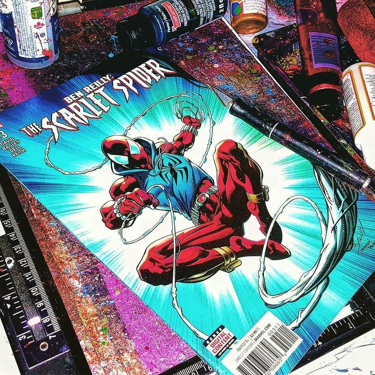 THWIPP Got some #scarletspider coming up next!  . . . Written by Peter David | Pencilled by Mark Bagley | Inked by John Dell | Color Art by Jason Keith & Jay David Ramos | Lettered by VC's Joe Caramagna | Cover Art by Mark Bagley John Dell & Jason Keith | Assistant Editor Allison Stock | Editor Devin Lewis | Executive Editor Nick Lowe | EIC Axel Alonso | CCO Joe Quesada | President Dan Buckley | Executive Producer Alan Fine . . . #benreilly #spiderman #thescarletspider #marvelcomics…