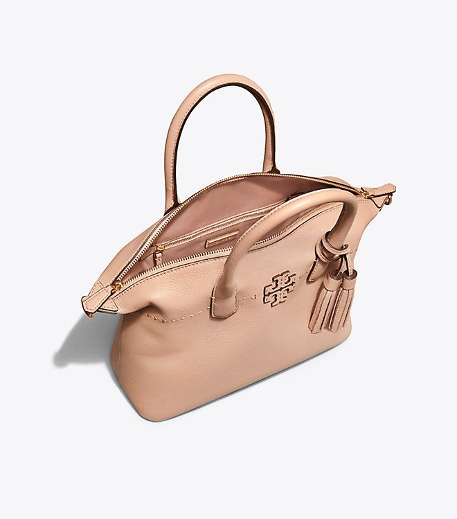 da52ed6b8a2 Visit Tory Burch to shop for Mcgraw Slouchy Satchel and more Womens View  All. Find designer shoes