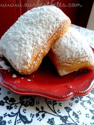 Beignets - not only delicious, but they are so easy, the dough can be made the night before and refrigerated, and they only require one short rise.