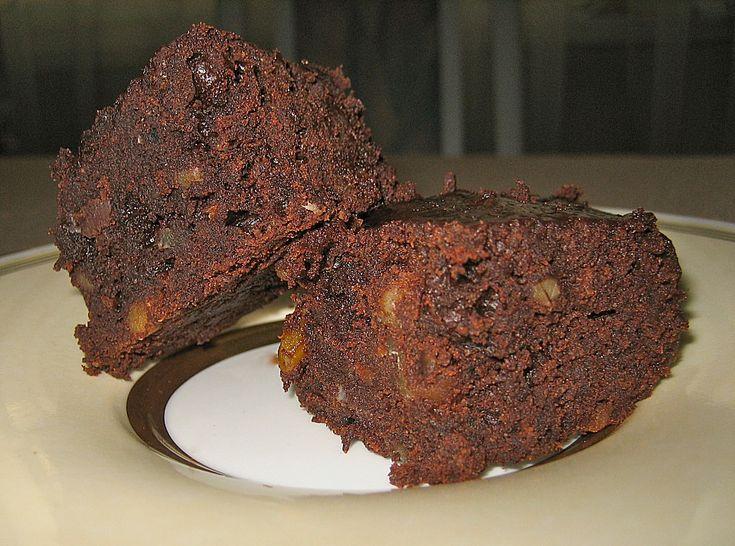 Maple Glazed Walnut Brownies