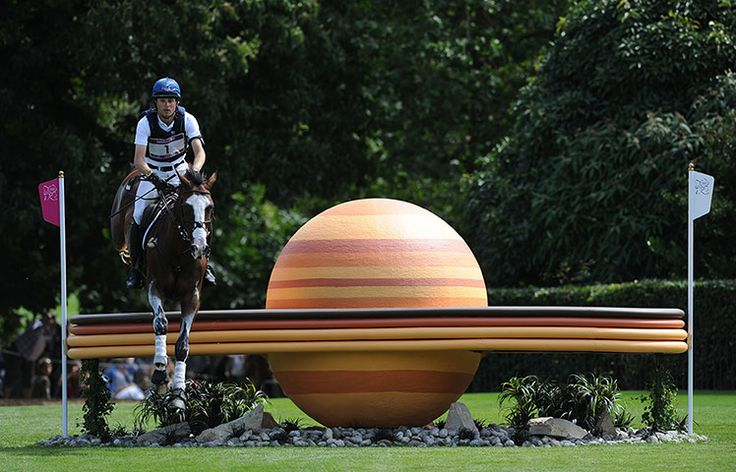 Magnificent jumps for Olympic cross country