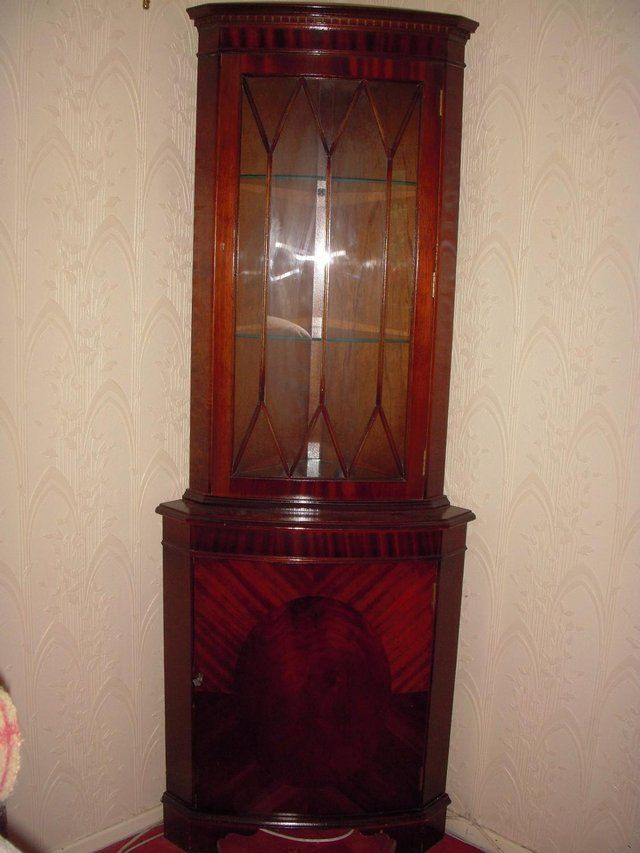 Corner Display Cabinet for sale