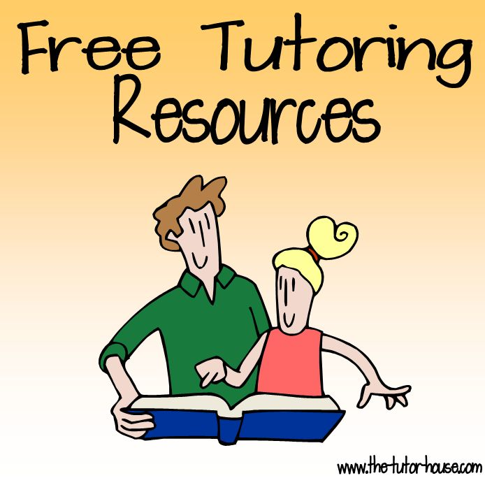 Find free tutoring resources at The Tutor House blog shop.