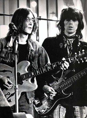 John Lennon and Keith Richards                                                                                                                                                     Plus