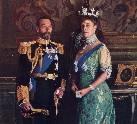 It seems King George V and wife Queen Mary were fussy eaters!