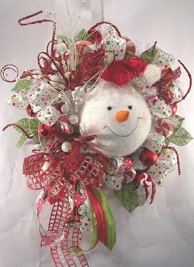 welcome christmas wreath on - photo #39