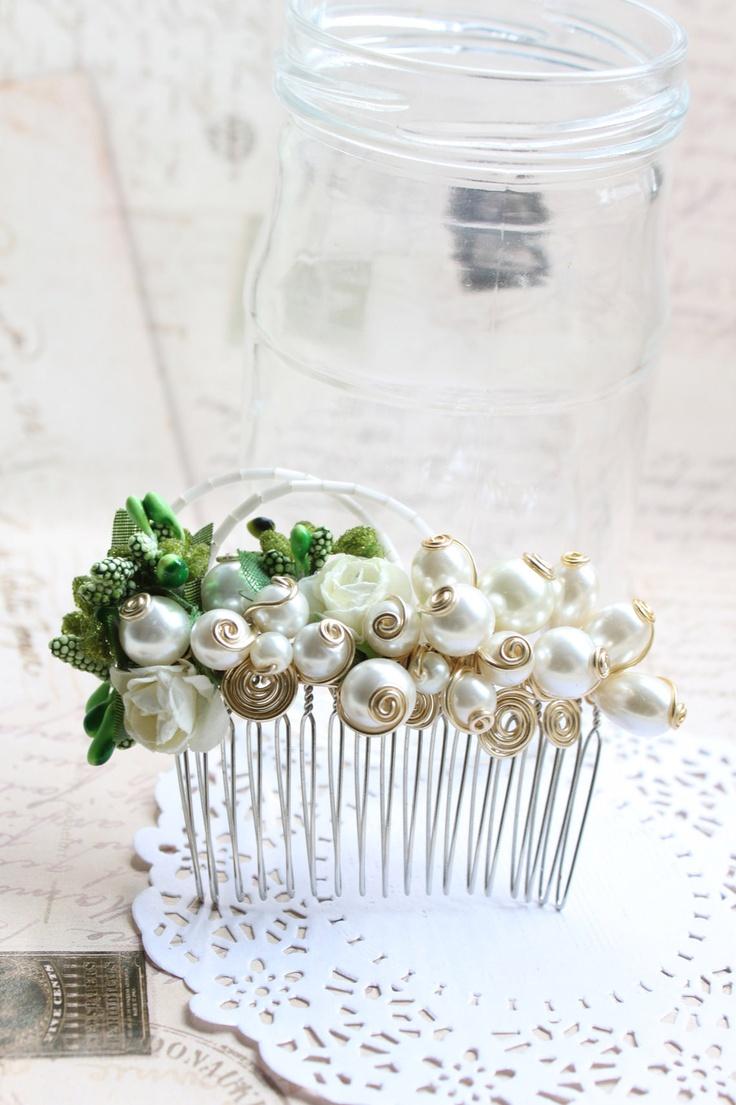 Diy hair accessories for weddings - New Handmade White Hair Accessories Handmade Design Accessories Fashion