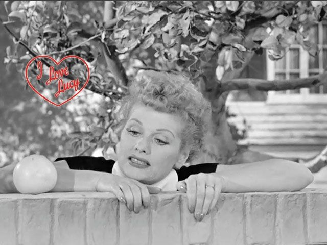 I Love Lucy: episode where Lucy and Ethel get off of the bus they're on that's taking a tour of the stars' homes around Beverly Hills to retrieve a grapefruit from Richard Widmark's tree.