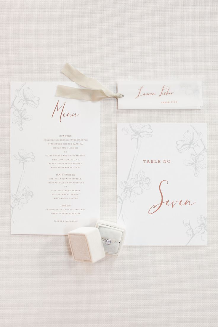 Stationery Blush Floral Calligraphy Invites Invitations Ribbon Ethereal Fine Art William Morris Wedding Ideas