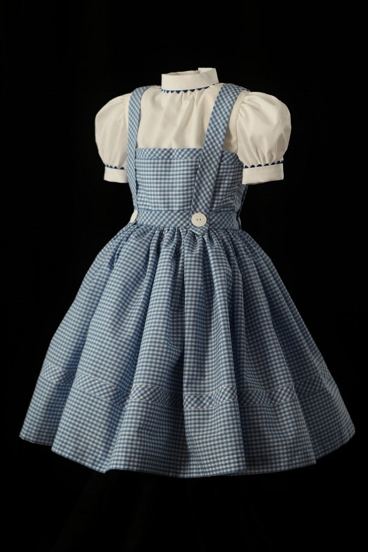 Child's Dorothy Costume Dress Custom Made, via Etsy.