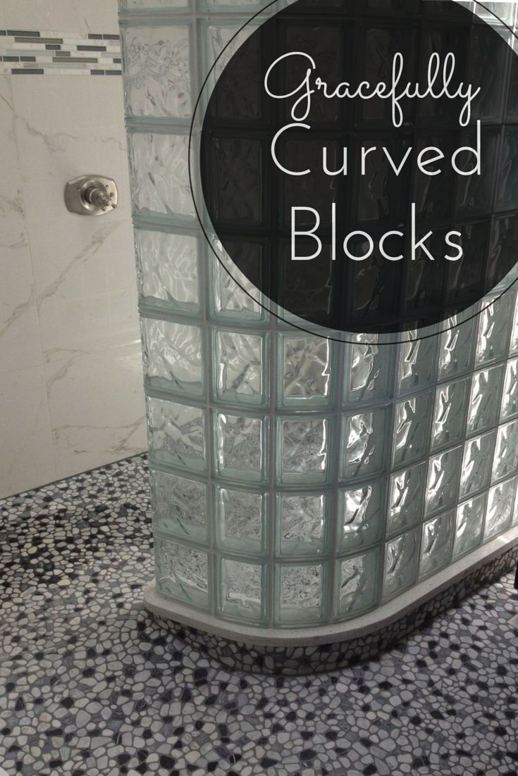 how to put in glass blocks