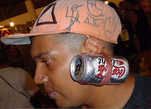 I say no, no, no!!!Bud Lights, Funny Pictures, Ears, Job Interview, Body Modifications, Weird, Wtf, Diet Coke, Funny People