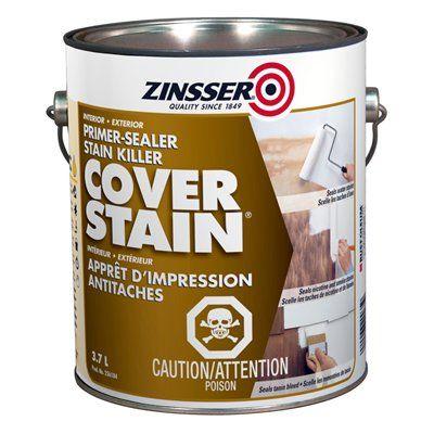 Zinsser Cover Stain® Primer-Sealer Stain Killer