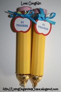 Cute #Teacher gift :Rolo Pencils Do you think a tween could make these?