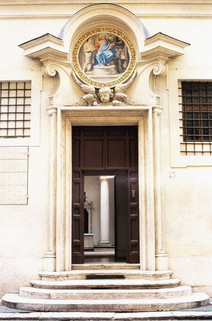Francesco Borromini - San Carlo alle Quattro Fontane - Ingresso cortile - 1638-1641