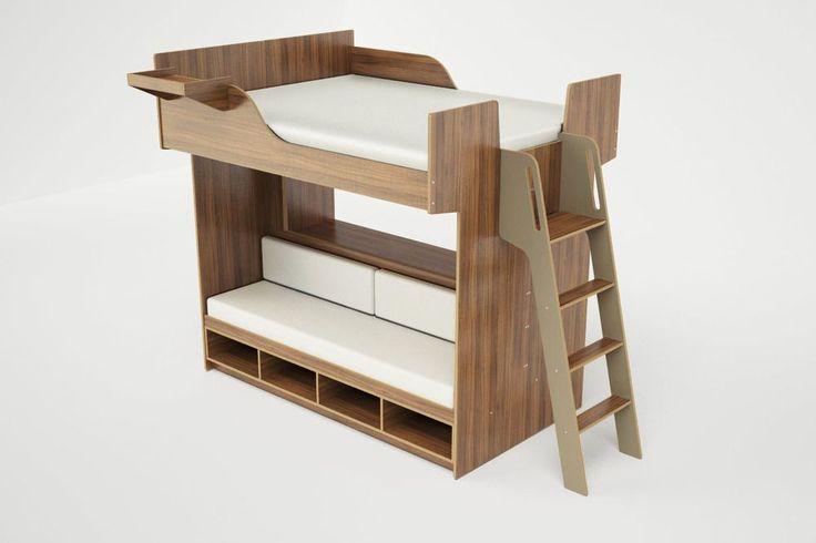 Urbano queen loft bed. (Roberto Gil)