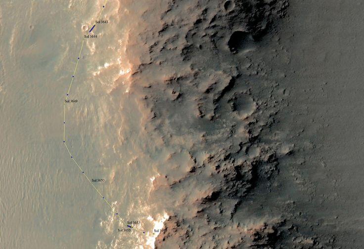 Opportunity Explores Region of Aluminum Clay Minerals | NASA