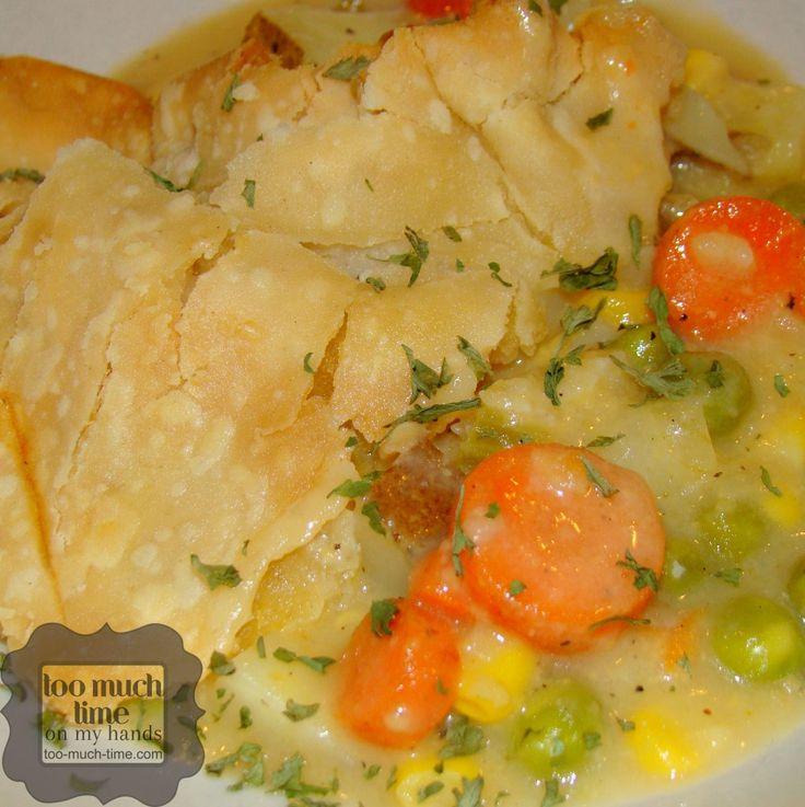 ... Vegetarian Pot Pies on Pinterest | Pot Pies, Pies and Veggie Pot Pies
