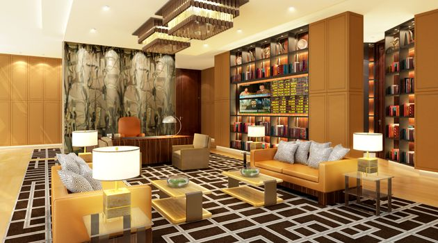 Images commercial offices office interior design for Leasing office decorating ideas