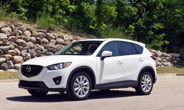 2013 Mazda CX-5 Grand Touring Photo by: Chris Amos
