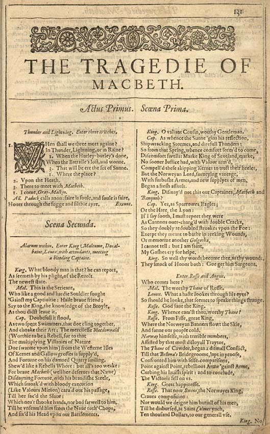 the character of macbeth in william shakespeares macbeth Hamlet | shakespeare's hamlet, prince of denmark  macbeth by william  shakespeare  macbeth, general in the king's army banquo, general in the  king's  of the play, in scotland and chiefly at macbeth's castle act i scene i.