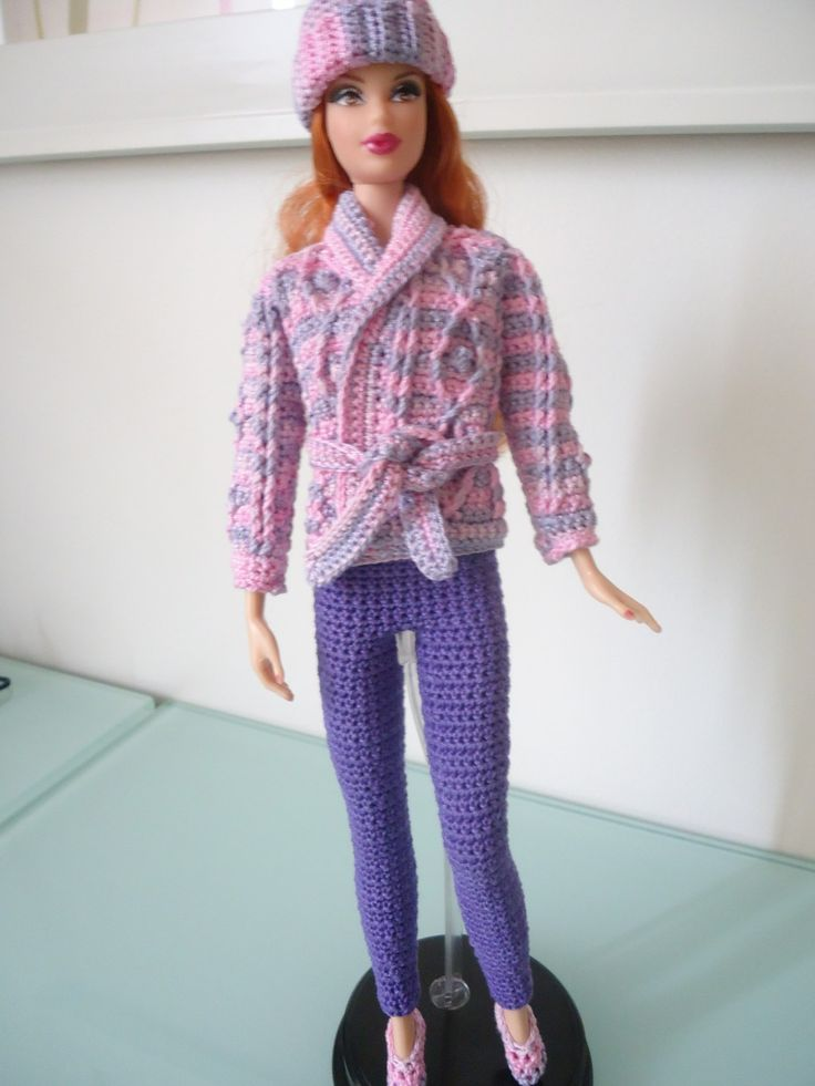 Barbie Basics Knitting Patterns : Best images about crochet toys barbie clothes on