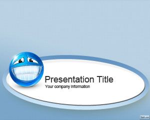 Happy PowerPoint template background
