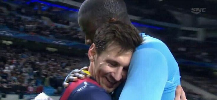 Messi & Toure Yaya