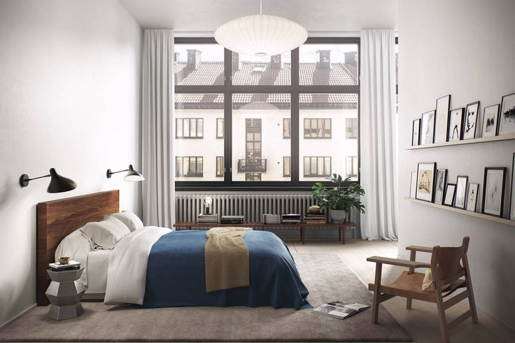 Inspiring apartment in 3D via Swedish broker Alexander White Follow Style and Create at Instagram | Pinterest | Facebook | Bloglovin