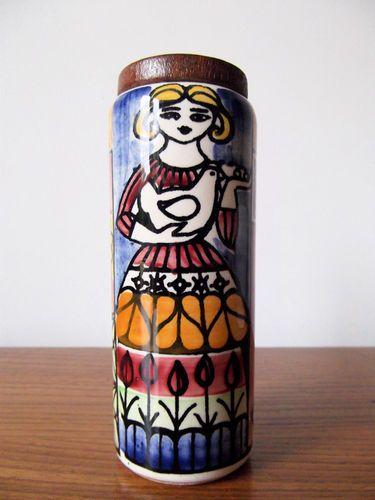 Vintage Danish Jie Gantofta Sugar Sifter Designed By Anita Nyland 1950s 1960s