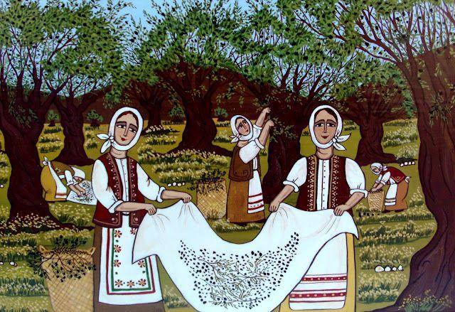 Μέσα σ'ένα σεντουκάκι...: Θέμα Μαρτίου: Λαϊκή Παράδοση στην Ελλάδα!