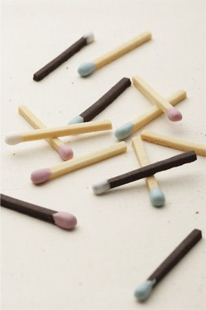 Match Stick Cookies