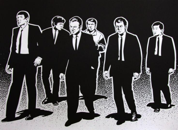Star Trek Reservoir Dog mash up: Startrek Con, Awesome Pictures, Art Prints, Trek Reservoir, Stars Trek, Mezclamo Startrek, Reservoir Trek, Brent Cheshire, Reservoir Dogs