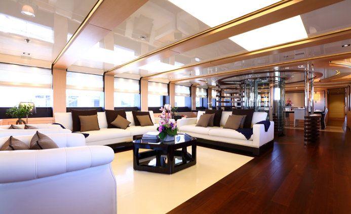 Interiors Of Luxury Yachts Ladies Yacht Interior