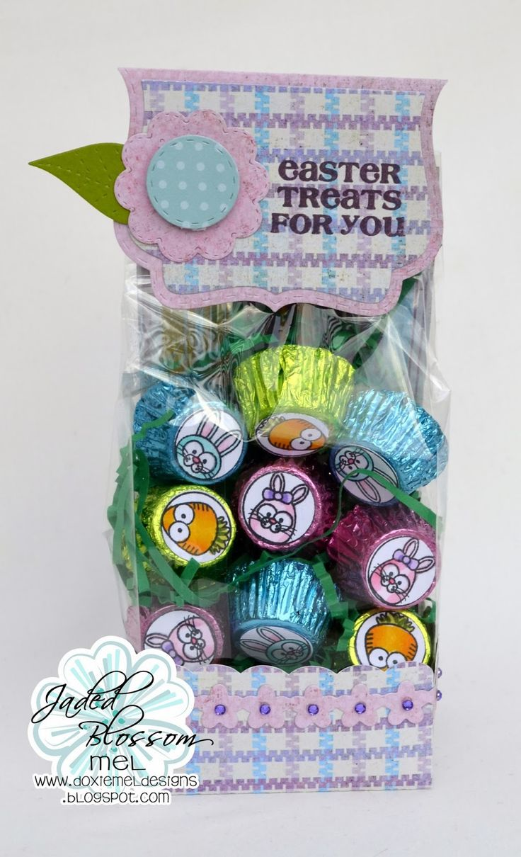 Jaded Blossom Release Day 1 :: Easter Treat Bag