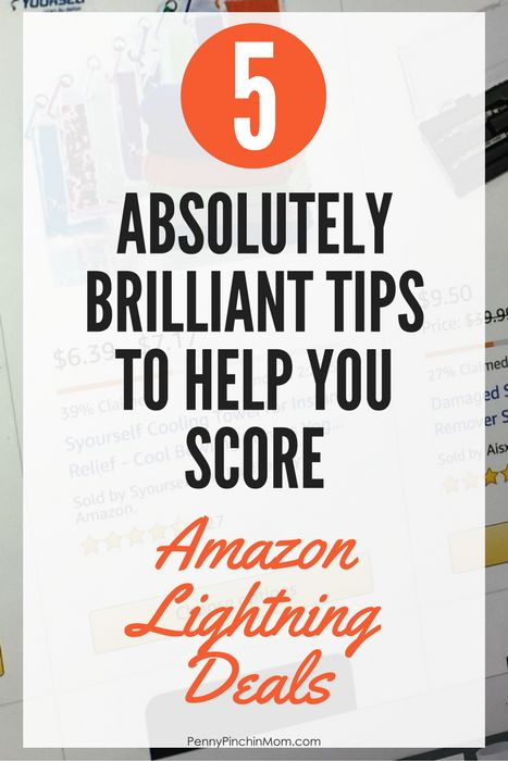 tips to get Amazon Lightning Deals