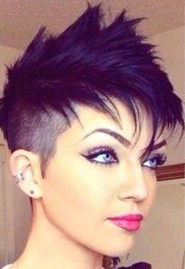 Superstoere Faux Hawk kapsels voor dames met korte haartjes!