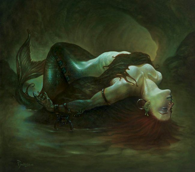 Dark Mermaid Art 10+ images about Merma...