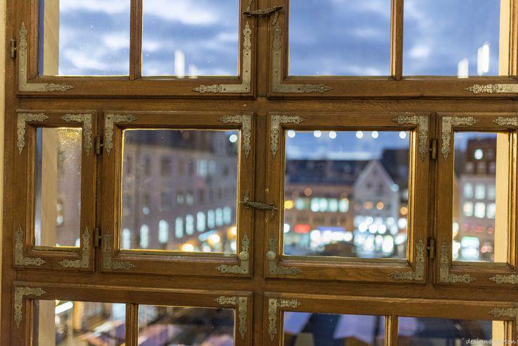 Blick aus dem Goldenen Saal -  Rathaus Augsburg, Germany