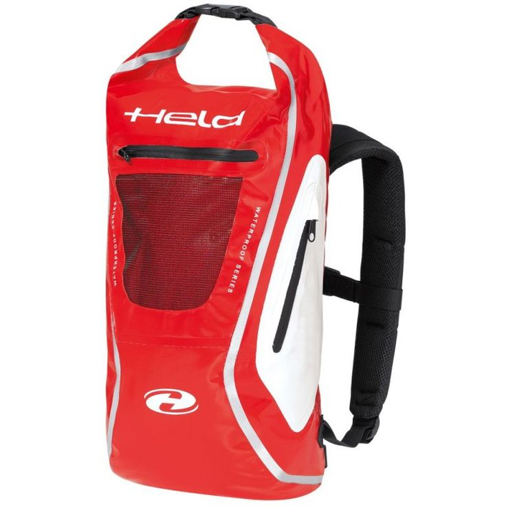 Held Zaino Waterproof Motorcycle Rucksack Red - http://playwellbikers.co.uk/motorcycle-gear/held-zaino-waterproof-motorcycle-rucksack-red/