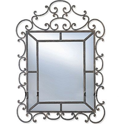 78 Best Images About Wrought Iron Mirrors On Pinterest