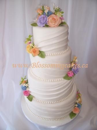 rainbow flower wedding cake best 25 rainbow wedding cakes ideas on 18958