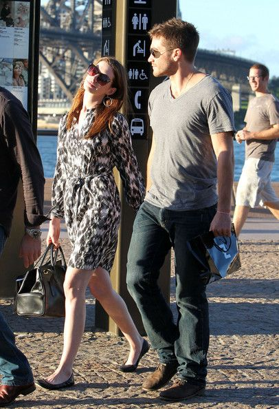 Jake Gyllenhaal Photos: Anne Hathaway & Jake Gyllenhaal Visiting Sydney Opera House