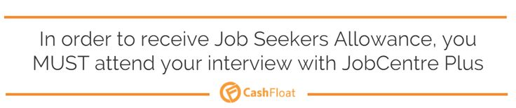 Learn more about Job Seekers Allowance and income support in Cashfloat's article.