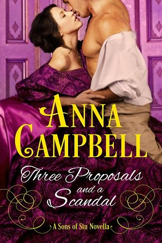 """""""Marianne thought that a malicious fate was set on tormenting her into screaming insanity."""" Who is Lady Marianne and where does she live? WIN a copy of Three Proposals and a Scandal, from Award-winning Anna Campbell. (Int'l Giveaway) http://bit.ly/1VCCqGd"""