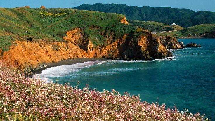 Mori Point San Mateo County California | HD Wallpapers