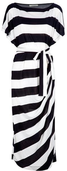 Striped maxi