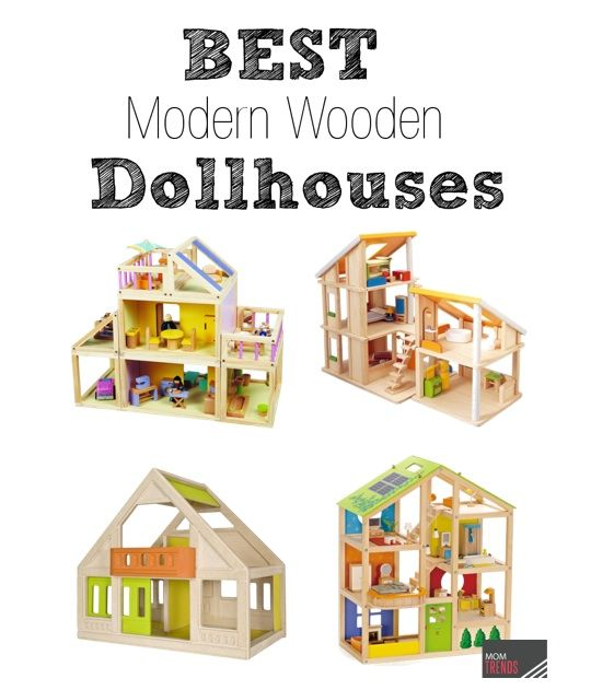 gear girl best dollhouses modern wooden dollhouses for kids love that many of these are. Black Bedroom Furniture Sets. Home Design Ideas